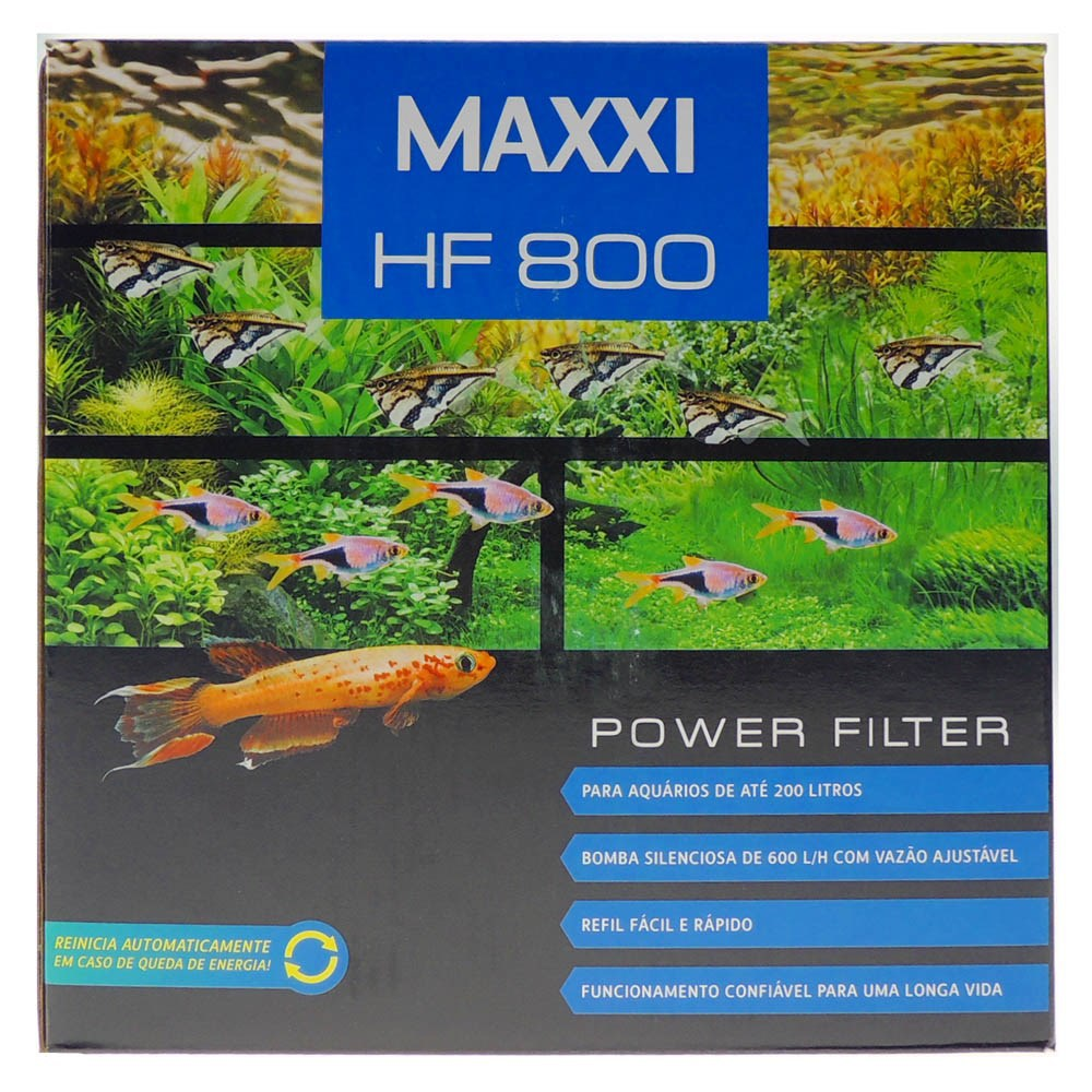 Filtro Maxxi Power 600 Litros/hora HF-800