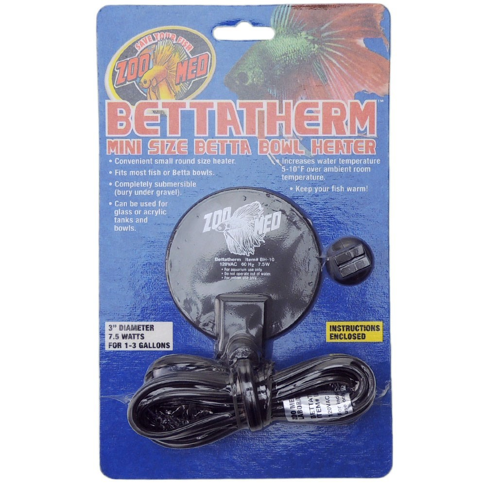 Mini Aquecedor ZooMed para Bettas Bettatherm