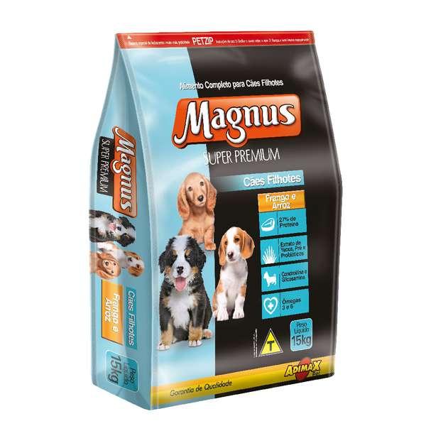 Ração Adimax Pet Magnus Super Premium para Cães Filhotes