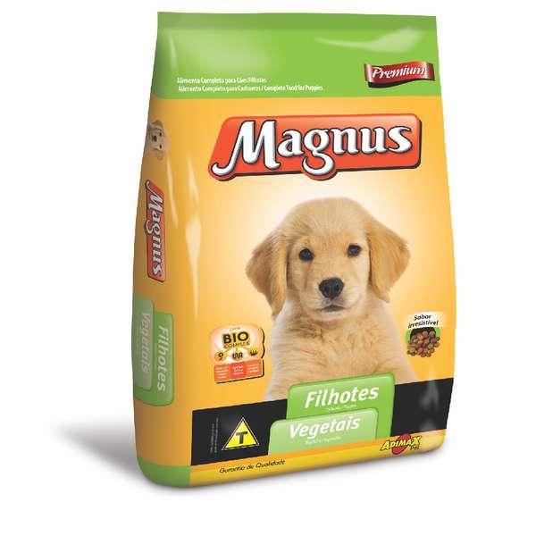 Ração Adimax Pet Magnus Premium Vegetais para Cães Filhotes