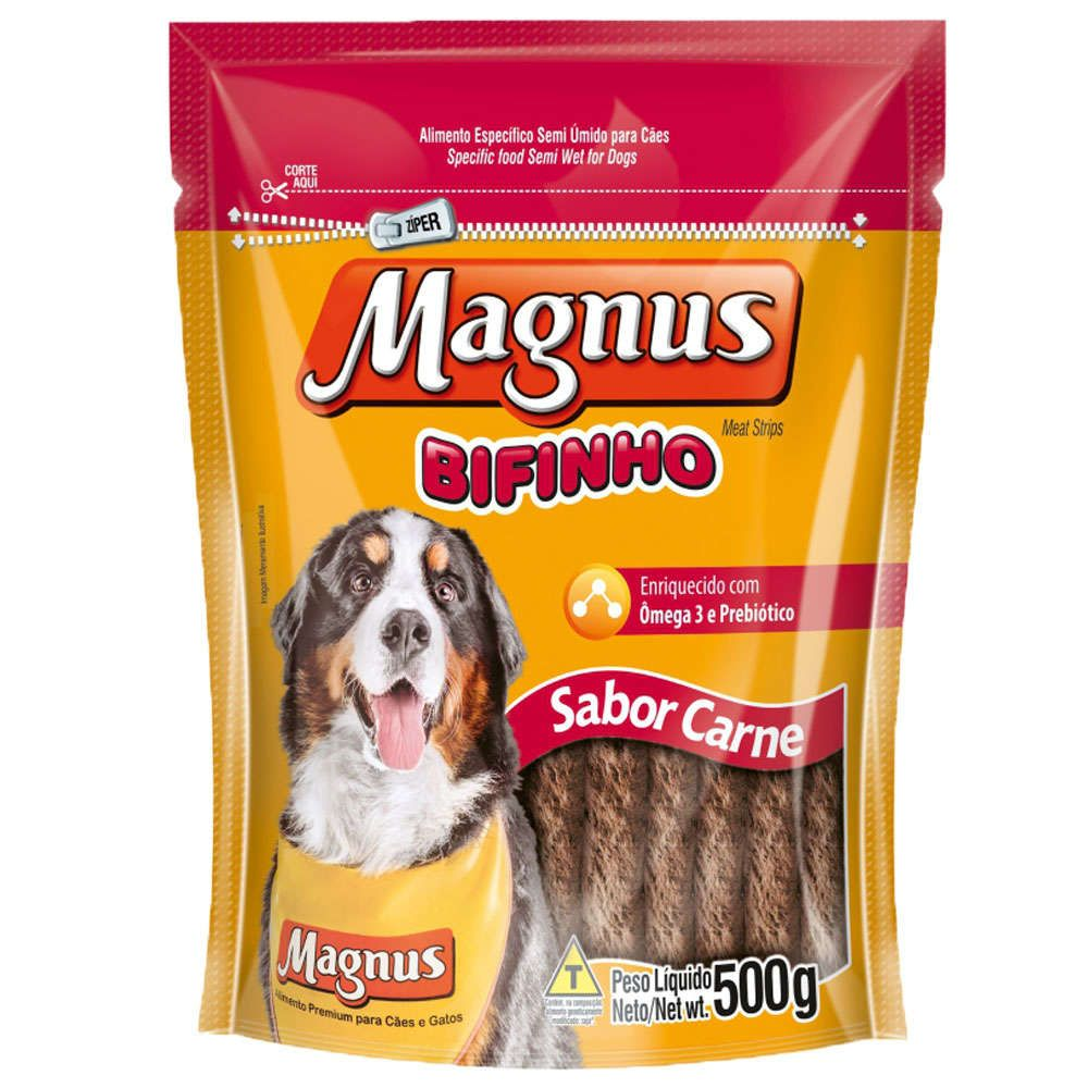 Bifinho Magnus Carne para Cães