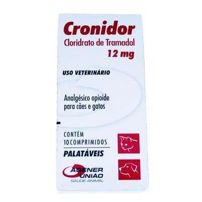 Cronidor 12mg Agener União 10 Comprimidos