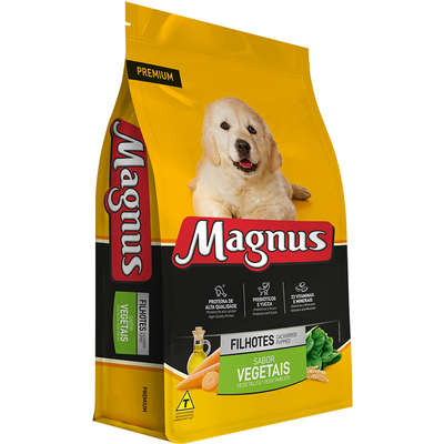 Ração Adimax Pet Magnus Premium Vegetais para Cães Filhotes 10kg