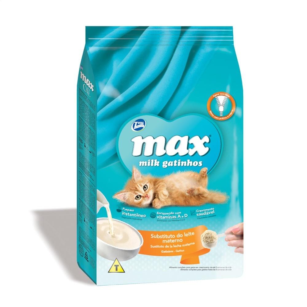 Ração Max Cat Milk para Gatos Filhotes - 200g