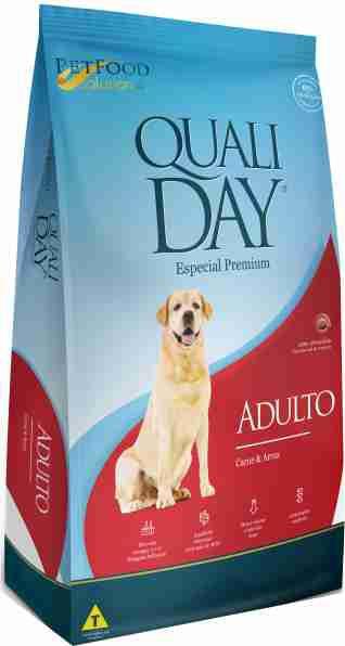 Ração Qualiday Cães Adultos Carne e Arroz - 15kg
