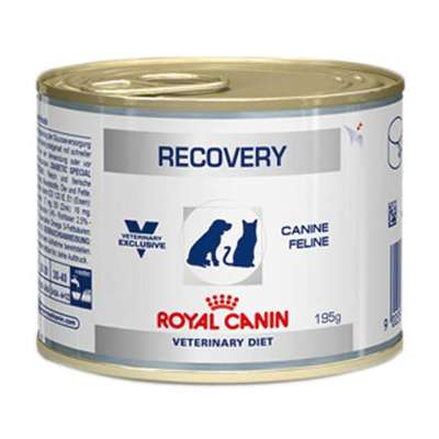 Ração Royal Canin Lata Canine e Feline Veterinary Diet Recovery Wet - 195 g