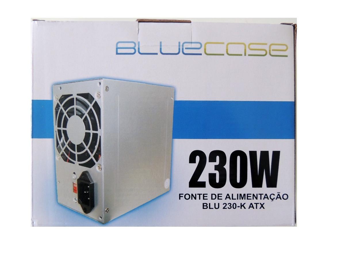 BLUCASE TATX Fonte 230W Reais  SMALL