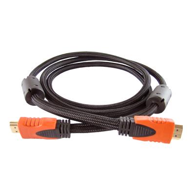 CABO HDMI P/ HDMI 1.4C 3.0M NYLON PRETO - POLYBAG