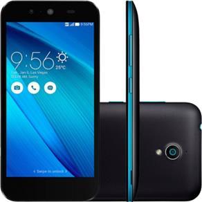 SMARTPHONE ASUS LIVE G500 PRETO E AZUL DUAL  CHIP, 16GB TELA  DE  5