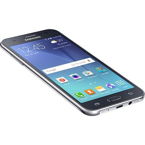 Celular Smartphone Samsung Galaxy J5 Duos J500M Preto - Dual Chip, 4G, Tela 5, Câmera 13MP + Frontal 5MP com Flash
