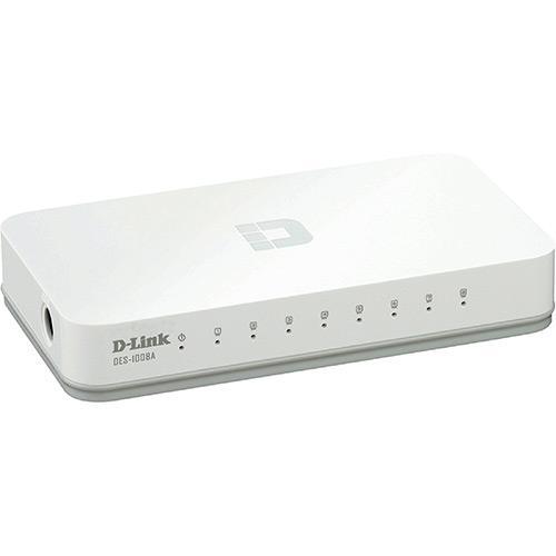 Switch D-Link DES-1008A 8 Portas 10/100Mbps
