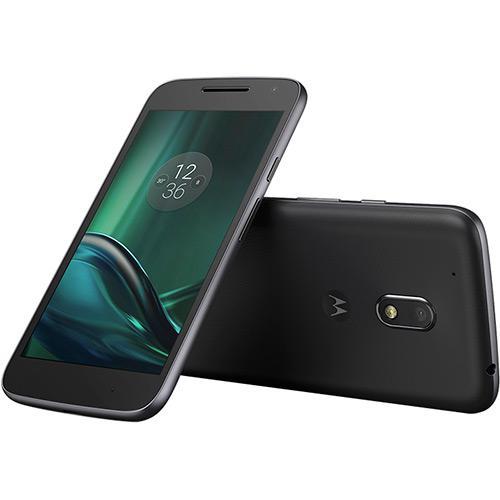 Smartphone Motorola Moto G 4ª Geração Play, DTV, Dual Chip, Preto, Tela 5