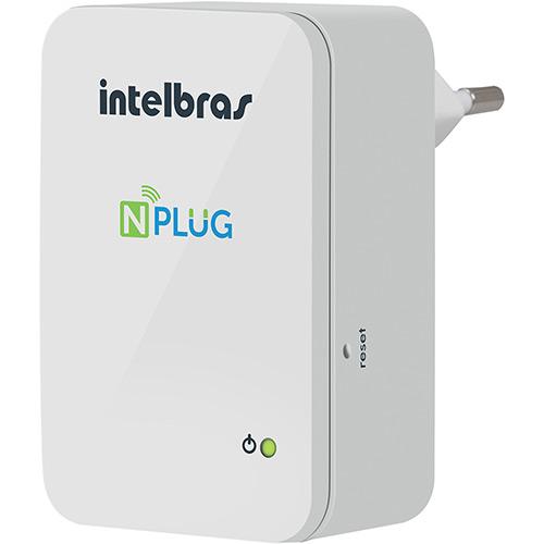 Roteador e Repetidor Intelbras NPLUG 150Mbps