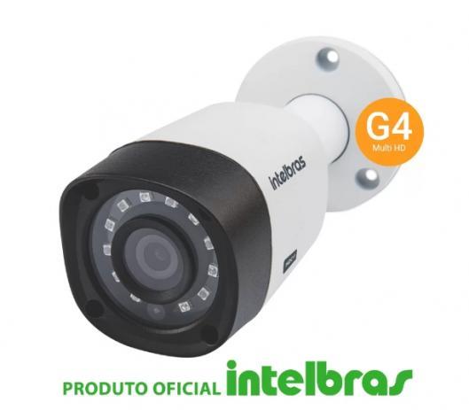 Câmera intelbras bullet multi hd 1120b g4 alta definição (1.0mp 720p 2.6mm plast)