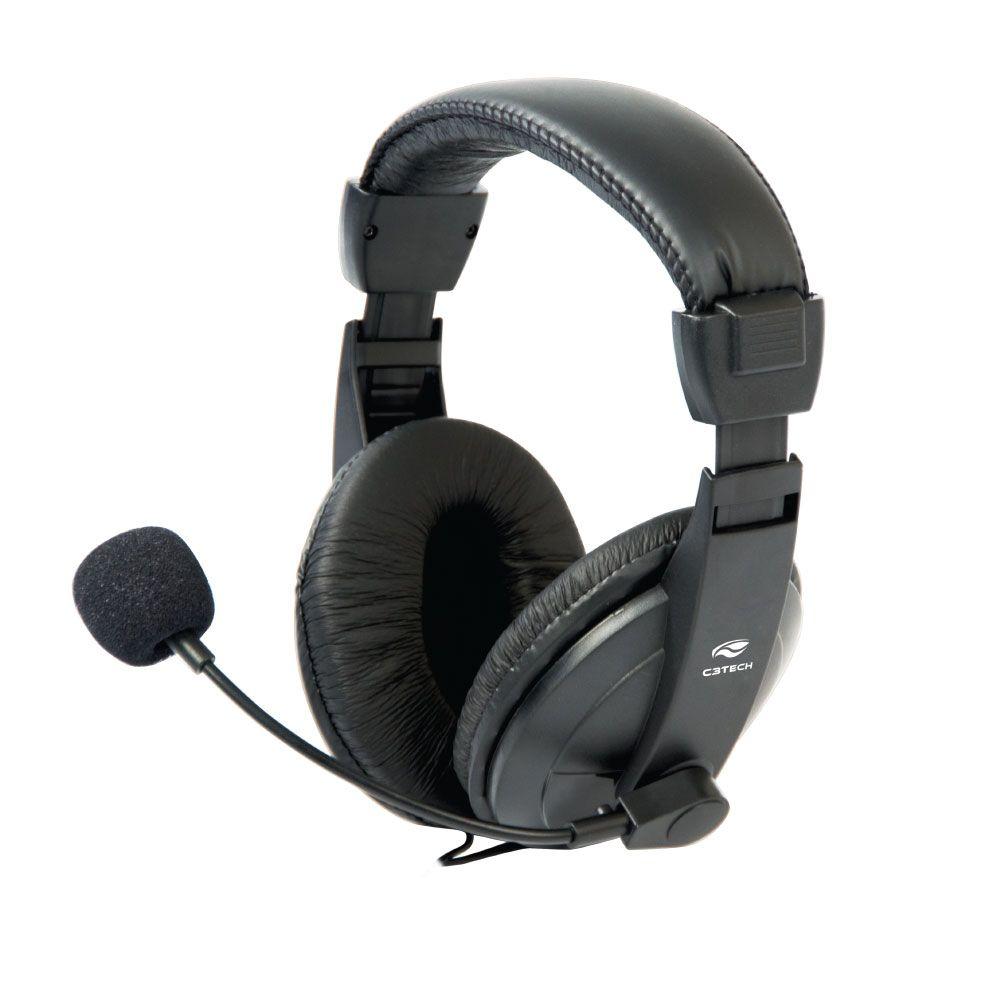 Fone com Microfone Voicer Comfort MI-2260ARC C3Tech