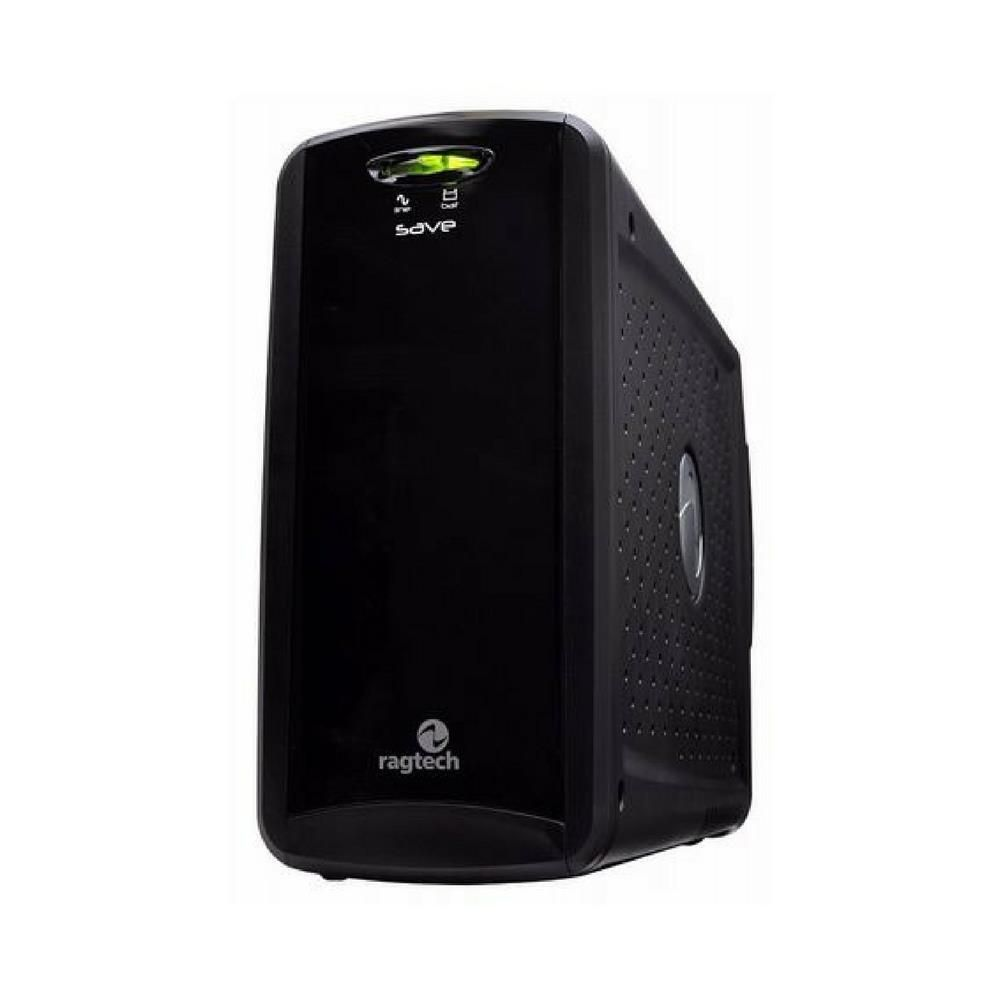 Nobreak Save Home 600 Std-Ti Black 60Hz Entrada 115 Saida 115V