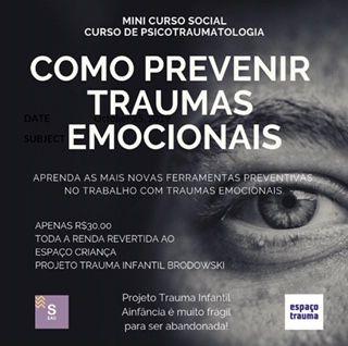 Primeiros Socorros Emocionais a Pessoas Traumatizadas