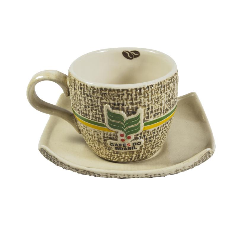 Xícara Cafés do Brasil 70ml