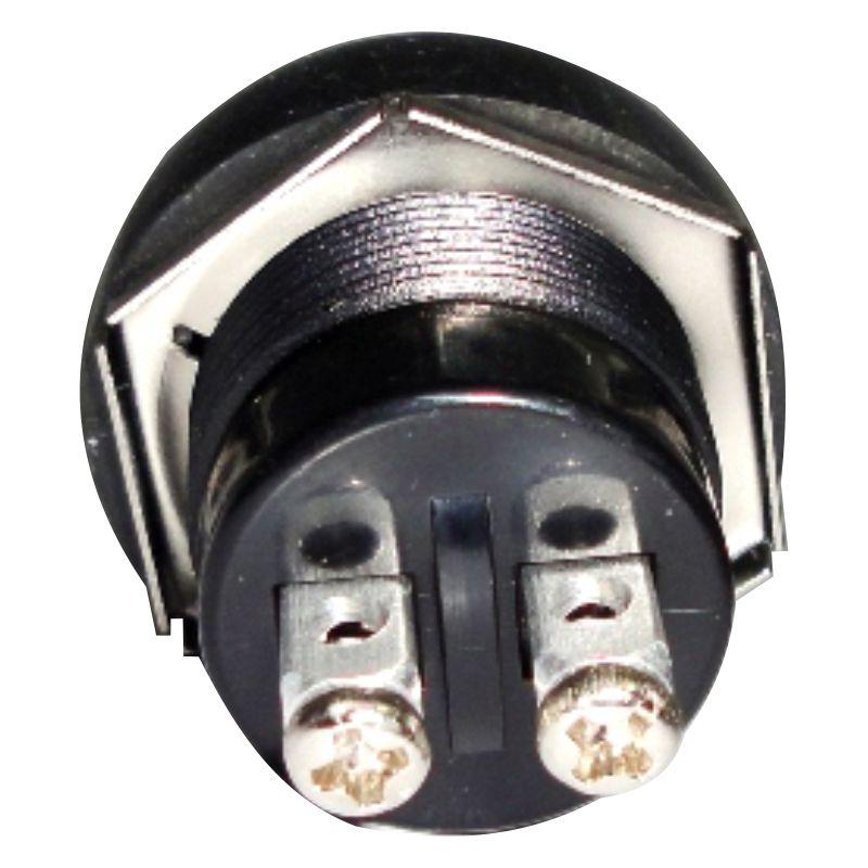 Botão Interruptor Para Buzina Com Capa De Borracha.