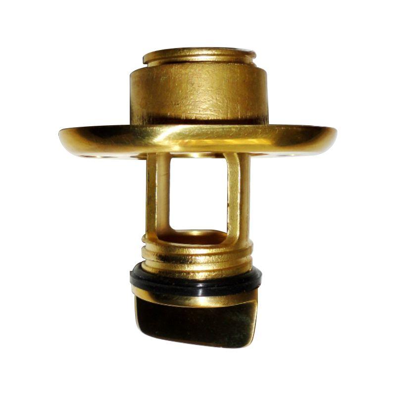 Bujão (bueira) Bronze Com Tampa Barco Caiaque