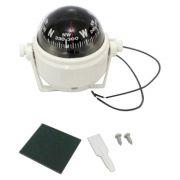 Bussola Com Iluminação E Base Ajustável 55mm De Diâmetro