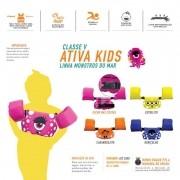 Colete Salva Vida Ativa Kids Classe 5 Homologado