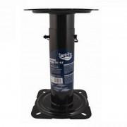 Kit Pedestal ajustável para Banco de Pesca + Base Giratória
