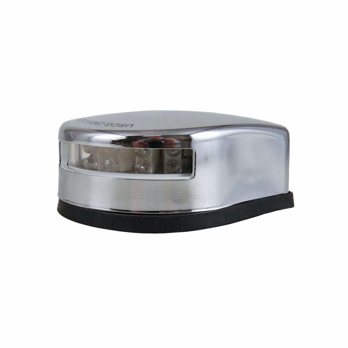 Luz De Navegação De Proa Bicolor LED Aço Inox 2 milhas