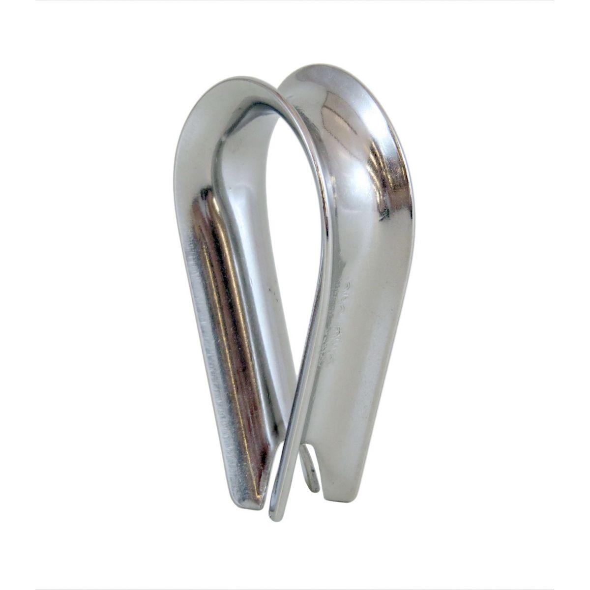 Sapatilha Inox  para cabos de amarras
