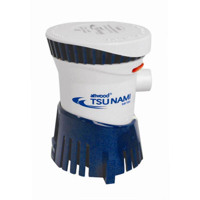 Bomba de Porão TSUNAMI 12V 500 gph à 1200 gph