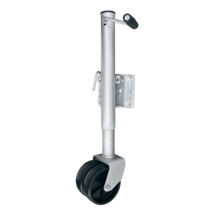 Roda Telescópica Pedestal Escamoteável Para Reboque