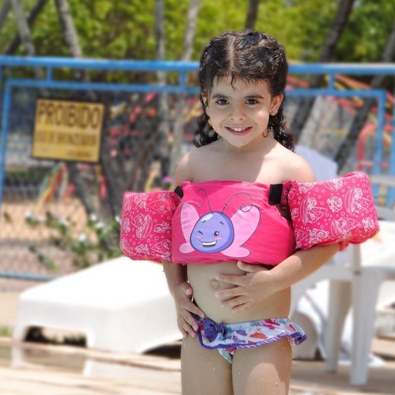 Colete Salva Vida Ativa Kids Galinha Pintadinha Classe 5 Homologado