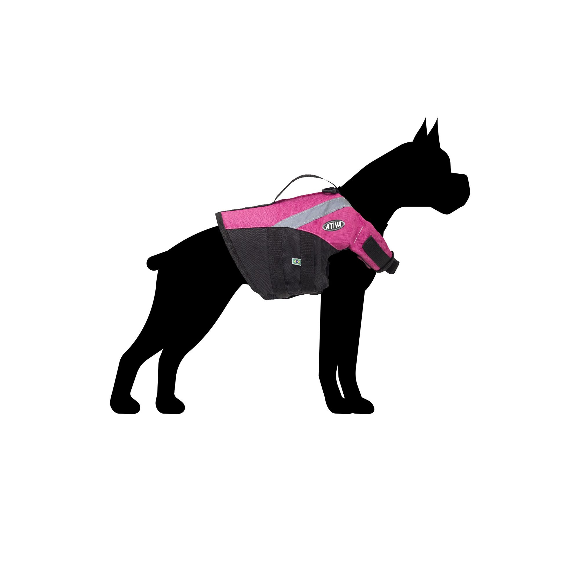 Colete Salva Vidas PET Aventura Cães Ativa