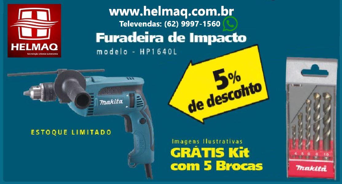 FURADEIRA DE IMPACTO 16MM (5/8 POL )