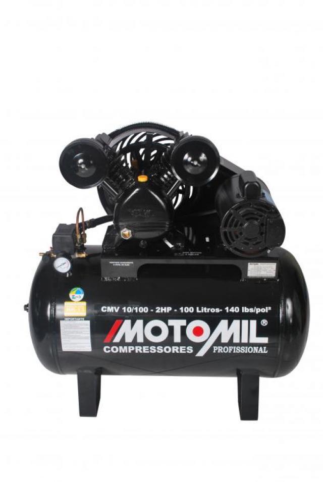 COMPRESSOR DE AR CMV-10/100 2HP M0N 110/220 V