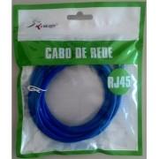 CABO DE REDE CAT5 RJ45 KP-C14  3M KNUP