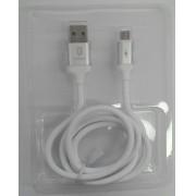 CABO USB EMBORRACHADO SMARTPHONE 3.0A MICRO (V8) MOD CA-03V 1,2M FANCY