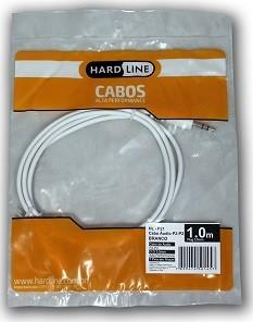 CABO DE AUDIO HL-P21 P2 1,0MTS - BRANCO
