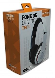 FONE DE OUVIDO BLUETOOTH TM-010 WHITE