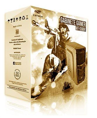 GAB GAME MT-G50 BK S/FONTE C3TECH