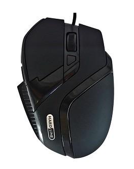 MOUSE OPTICO GAMER 800 a 2400 DPI USB BLISTER MS-26 PRETO