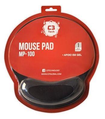 MOUSE PAD C/APOIO EM GEL MP-100 C3T