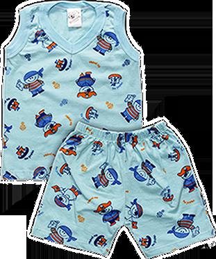 Pijama Regata Masculino Estampado
