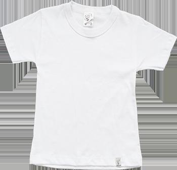 Camiseta Manga Curta Branca