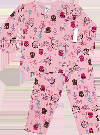 Pijama Estampada manga Longa / Calça