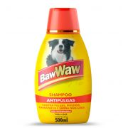Shampoo Antipulgas para Cães 500ml - BAW WAW