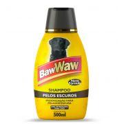 Shampoo para Cães Pelos Escuros 500ml - BAW WAW