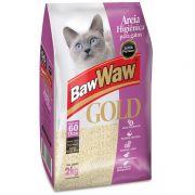 Areia Sanitária Super Premium para Gatos 2 kg - BAW WAW GOLD