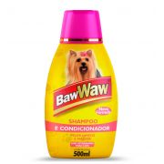 Shampoo e Condicionador 500ml BAW WAW