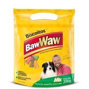 Biscoito Mix para Cães raças grandes e gigantes 200g - BAW WAW